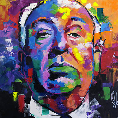 Painting - Alfred Hitchcock by Richard Day