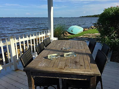 Photograph - Alfresco Dining Anyone? by Denise Mazzocco