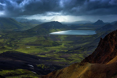 Dramatic Photograph - Alftavatn by Tor-Ivar Naess