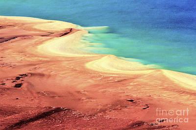 Photograph - Algae Mat Pastels by Adam Jewell