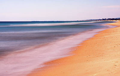 Photograph - Algarve Beach, Long Exposure - Portugal by Barry O Carroll