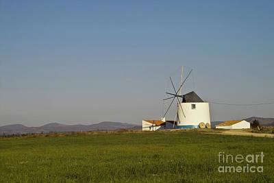 Koehrer-wagner_heiko Photograph - Algarve Windmill by Heiko Koehrer-Wagner