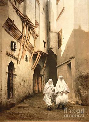 Algeria: Street Scene, C1899 Art Print by Granger