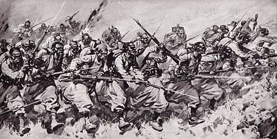 Algerian And Tunisian Troops, Known As Art Print