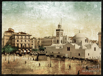 Photograph - Algiers Government Building - Remastered by Carlos Diaz