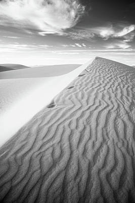 Photograph - Algodones Dunes - Vortices by Alexander Kunz
