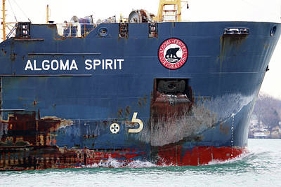 Photograph - Algoma Spirit Closeup by Mary Bedy