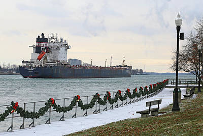 Photograph - Algoma Spirit In Saint Clair by Mary Bedy