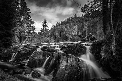 Photograph - Algonquin Falls by Joshua Hakin