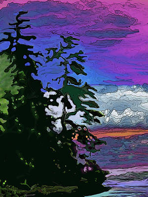 Digital Art - Algonquin by Ian  MacDonald