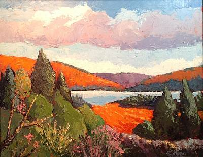 Wall Art - Painting - Algonquin Park 2 by Edward Abela