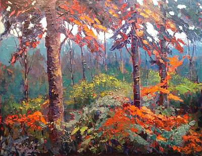 Wall Art - Painting - Algonquin Park by Edward Abela