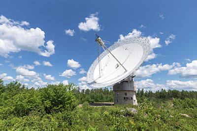 Photograph - Algonquin Park Radio Observatory by Josef Pittner