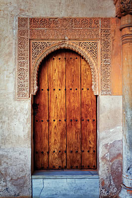 Photograph - Alhambra Door by Adam Rainoff