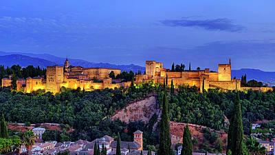 Photograph - Alhambra by Fabrizio Troiani