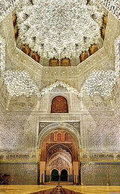Photograph - Alhambra Hall Of The Two Sisters by Weston Westmoreland