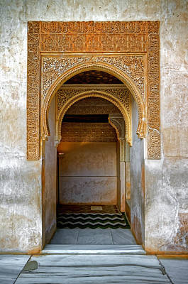 Photograph - Alhambra Passageway by Adam Rainoff