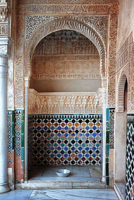 Photograph - Alhambra Small Room by Adam Rainoff