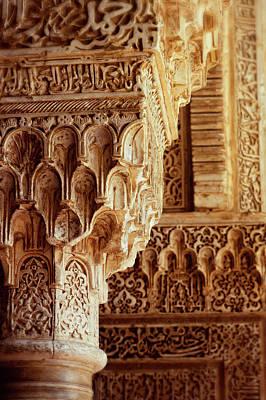 Photograph - Alhambra Splendour by Studio Yuki
