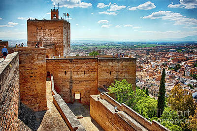 Alhambra Tower Art Print