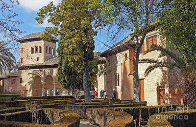 Photograph - Alhambra's Partal Palace by Rod Jones