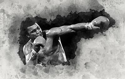 Mohammad Digital Art - Ali #2 by Karl Knox