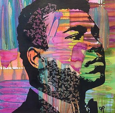 Mixed Media - Ali Butterfly by Dean Russo