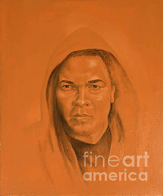 Icon Reproduction Painting - Ali by George Combs