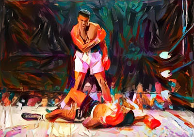 Painting - Ali by Paul Van Scott