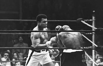 Muhammed Photograph - Ali-shavers Fight by Mehmet Biber