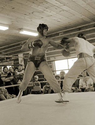 Photograph - Ali Spars With Ernie Bossman Jones by Jan W Faul