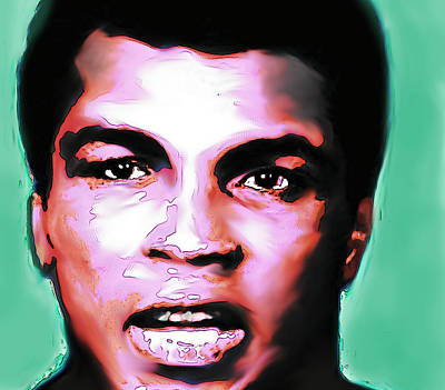 Ali The Greatest - R I P  Art Print by Enki Art