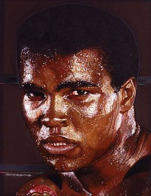Muhammad Ali Painting - Ali by Timothy Scoggins
