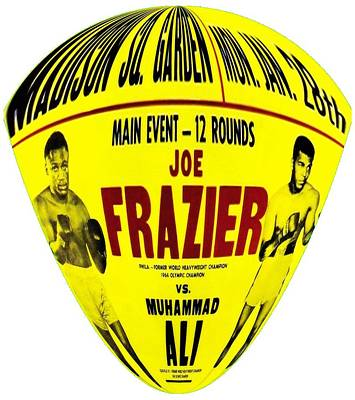 Heavyweight Mixed Media - Ali Vs Frazier II by Charlie Ross