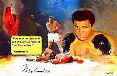 Painting - Ali by Wayne Pascall