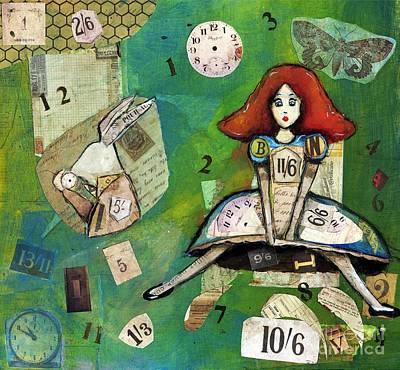 Mixed Media - Alice by Annalisa Loevenguth