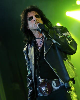 Csn Photograph - Alice Cooper by CSN Photography