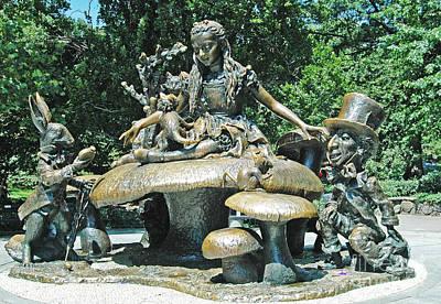 Alice In Wonderland Photograph - Alice In Wonderland In Central Park by Allan Einhorn
