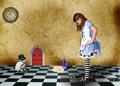 Digital Art - Alice by Jim Hatch