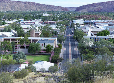 Photograph - Alice Springs - Australia by Phil Banks