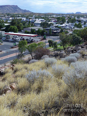 Photograph - Alice Springs From Anzac Hill by Phil Banks