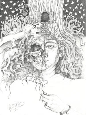 Drawing - Alice Syndrome 2 by Melinda Dare Benfield