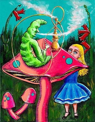 Painting - Alice Wondering by Charles Bickel
