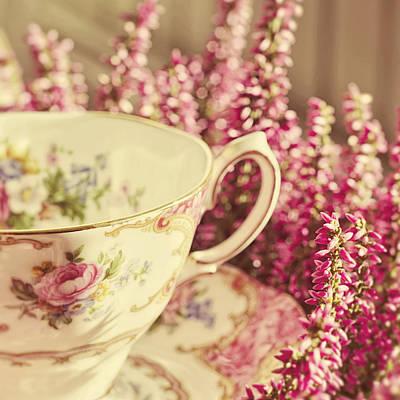 Vintage Teacup Photograph - Alice's Breakfast by Studio Yuki