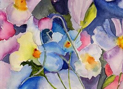 Painting - Alice's Garden by Anne Duke