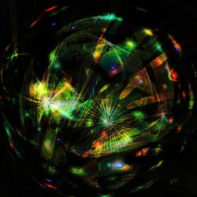 Digital Art - Alien Amoeba by Kiki Art