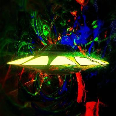 Paranormal Digital Art - Alien Art By Raphael Terra by Raphael Terra