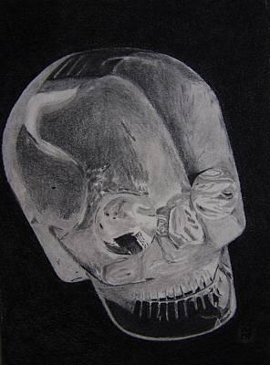 Alien Crystal Art Print