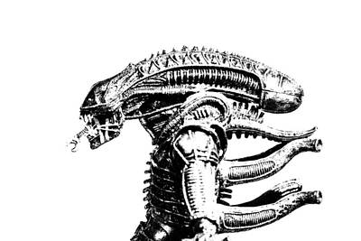 Xenomorph Photograph - Alien  by David Doyle