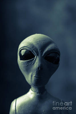 Abduction Photograph - Alien Encounter by Edward Fielding
